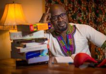 "Nigerian filmmaker, Adekunle ""Nodash"" Adejuyigbe"