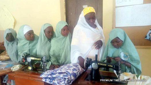 Pupils of Ja'en Special Primary School.