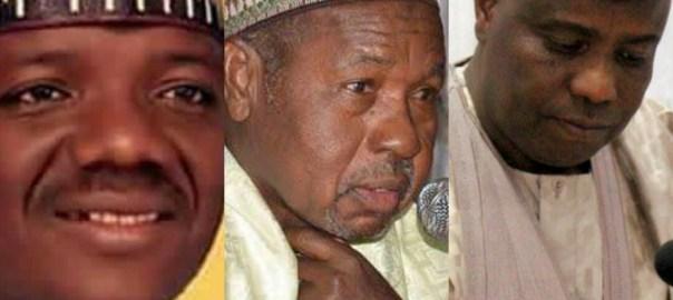 Governors Bello Matawalle Aminu Masari and Aminu Tambuwal of Zamfara, Katsina and Sokoto states, respectively