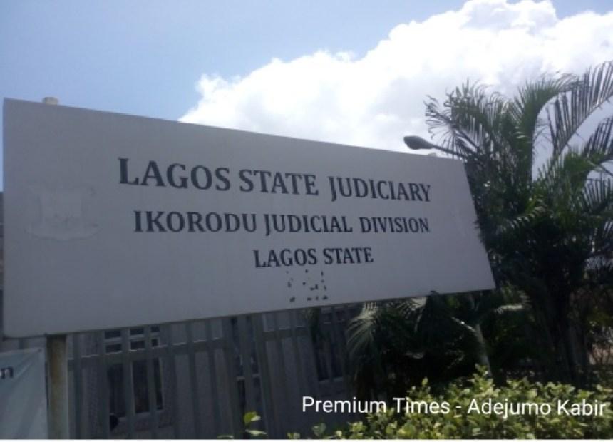 Ikorodu Judicial Division signpost