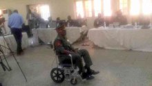 Embattled Nigerian Army major general, Hakeem Otiki at the Nigerian Army court martial (Photo Credit: Signature TV)