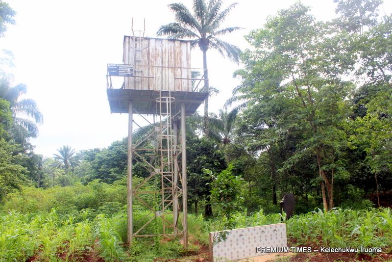 Non-functional borehole at Umu Ogbo-inyi