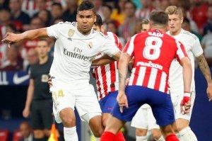 Match between Real Madrid v Atletico Madrid