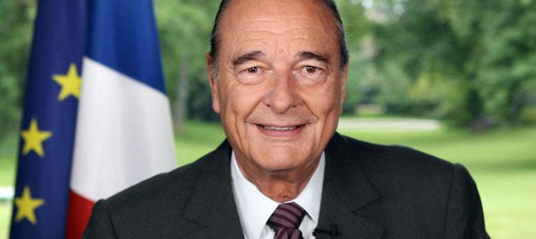 Jacques Chirac, former President of France[PHOTO CREDIT: France 24]