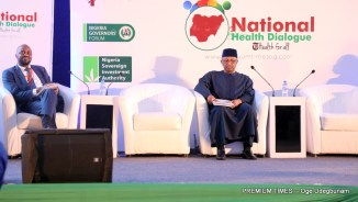 The panel on cancer at the National Health Dialogue