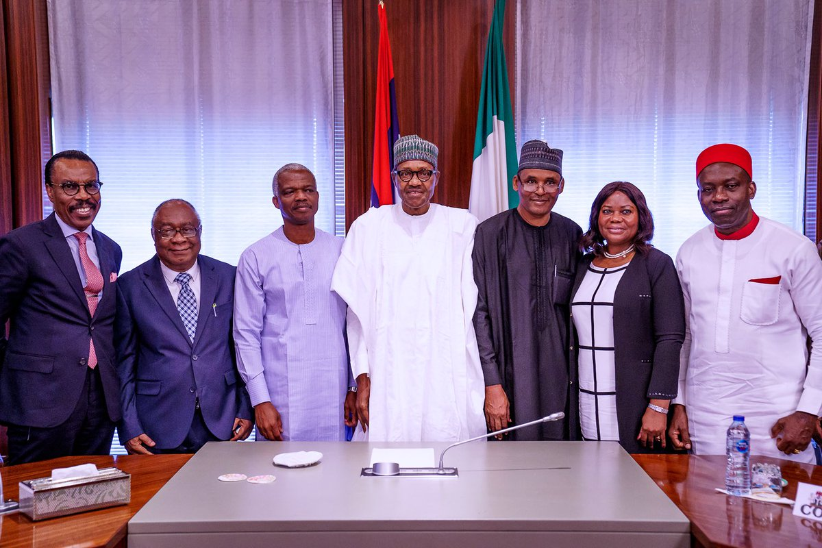 Buhari Inaugurates, Sets Agenda For Economic Advisory Council