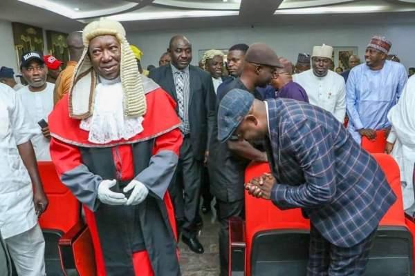 Edward Onoja sworn in as Kogi State Deputy Governor
