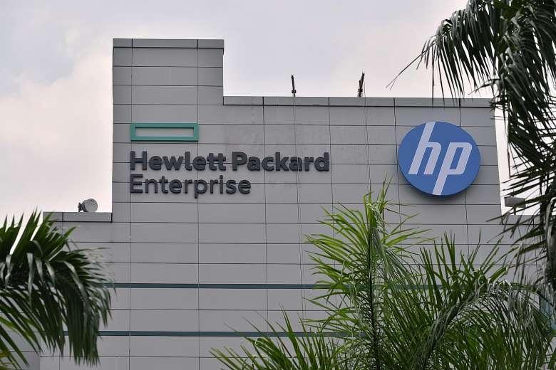 Hewlett-Packard Enterprise [PHOTO CREDIT:The Straits Times]