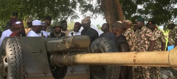 NASS committee on army visits Borno