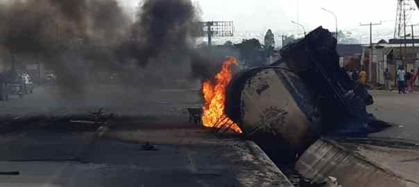 The tanker fire incident in Onitsha