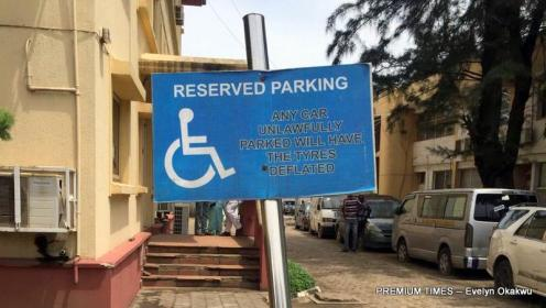 Before the creation of this special parking loft at the high court in Lagos, lawyers and litigants with disabilities had unimaginable difficulties approaching the court.