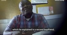 The lecturer from University of Ghana, Paul Bukator