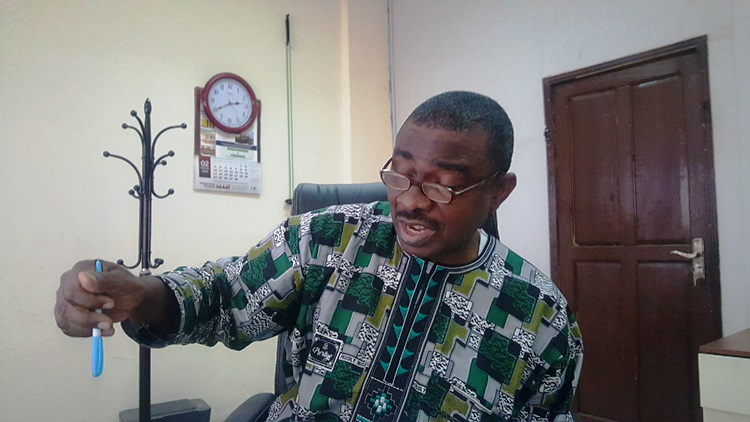 MAN official during an interview with The ICIR in Abuja Photo Credit Olugbenga Adanikin