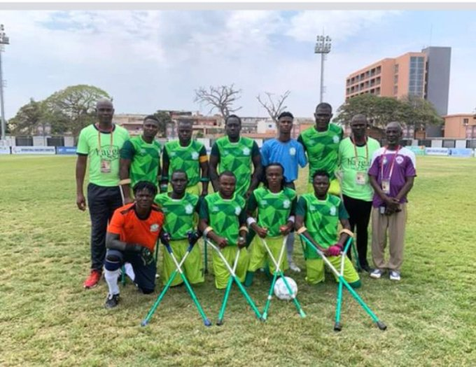 Nigeria Amputee Football Team at theAmputee Football Nations Cup
