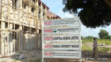 Ongoing...Academic Staff Buildingat the university
