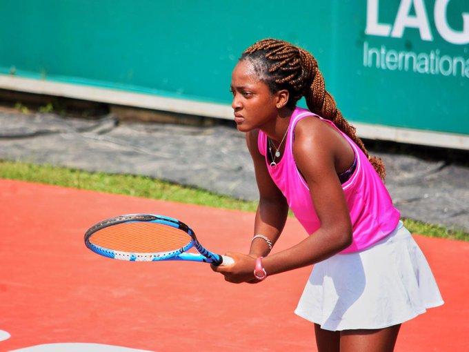 Lagos Open Tennis: 16-year-old Nigerian causes upset
