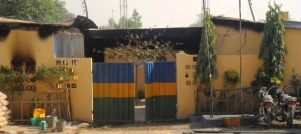 A Nigerian Police station.