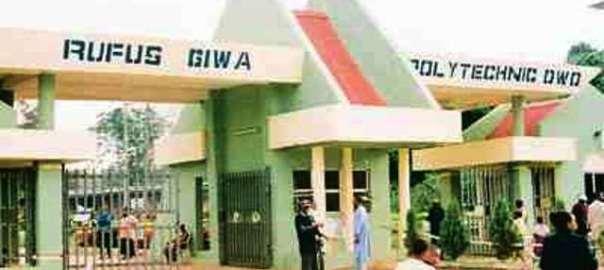 Rufus Giwa Polytechnic, Owo. [PHOTO CREDIT: Daily Post]