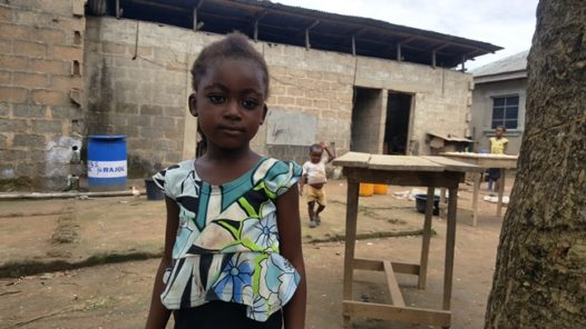 Six years old Beatrice Ogbor and her sibling Eliesar who has never witnessed electrcity since birth Photo Credit Olugbenga Adanikin The ICIR