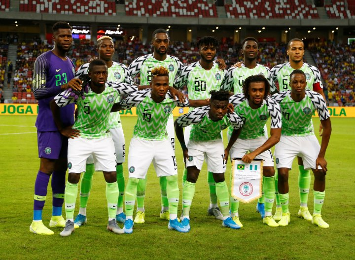 Nigeria's Super Eagles team