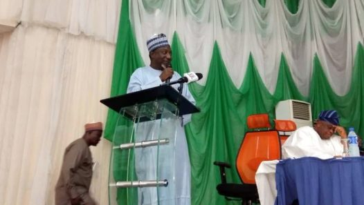 Habib Sadauki, speaking on Family Planning funding commitment for the attainment of the Family Planning 2020 target in Nigeria