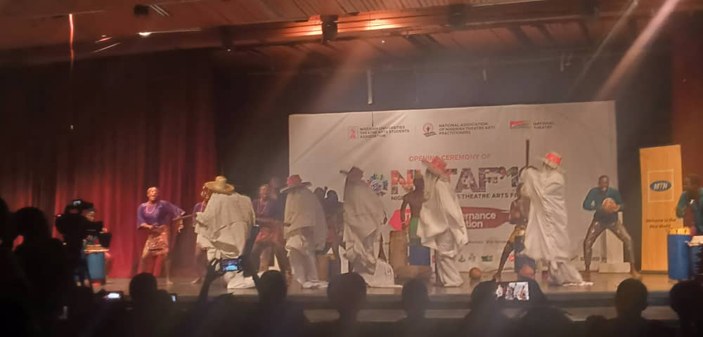 WhatsApp Image 2019 10 21 at 6.58.01 PM - Business booms for petty traders atUniversities Theatre Art Festival in Lagos