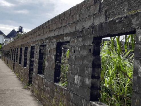 Abandoned project at Abuloma
