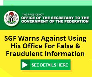 SGF Advert