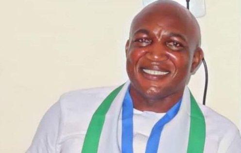 David Lyon of the APC, winner of the Bayelsa State 2019 governorship election