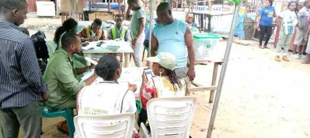 10:39am at PU11, Ward 6, Okaka Market, Yenegoa LG, Bayelsa