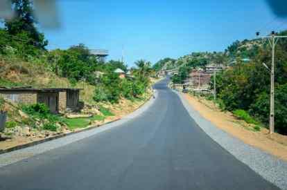 Okene – Kuroko -Ehika-Ikaturu-Itakpe roads in Kogi State.