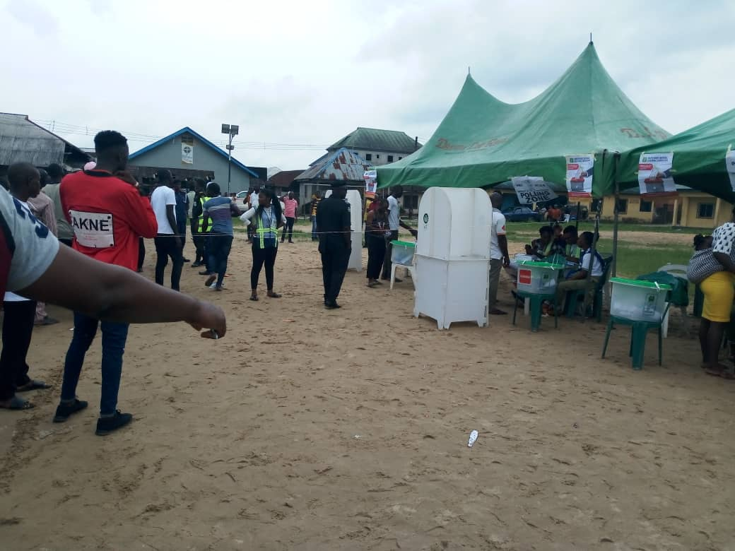 #BayelsaDecides: Thugs delay collation of votes in PDP candidate's LG