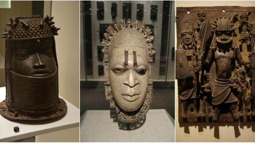 Photo of Benin-edo artifacts [Quartsz Africa]