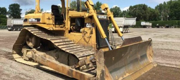 Bulldozer used to tell the story