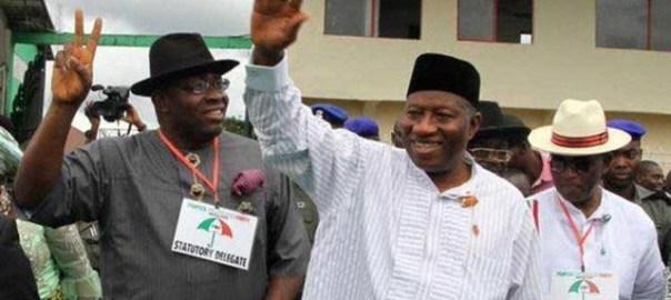 Former President Goodluck Jonathan and Bayelsa Governor, Seriake Dickson