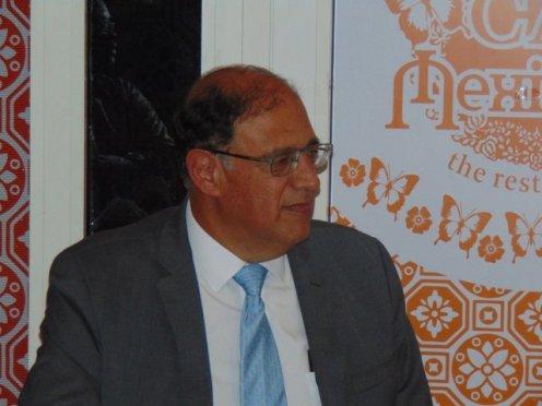 H.E Alejandro Garcia-Moreno.