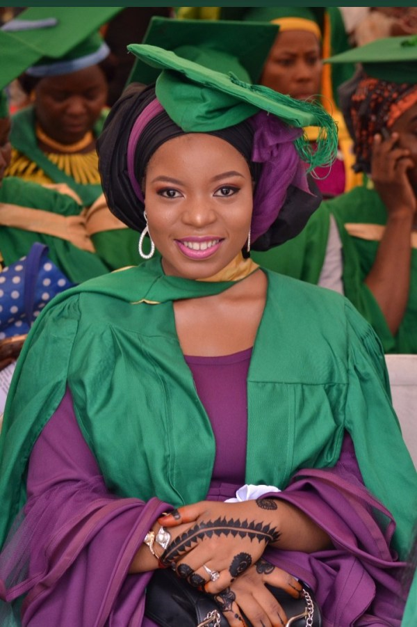 Fatima on her convocation day