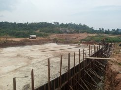 Ongoing work at Otuo earth
