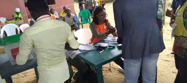 Voting Ends in Sampou/Kalama communities in Kolokuma Opokuma LGA.