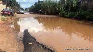 Boundary road to University of Benin, Ovia North East LGA