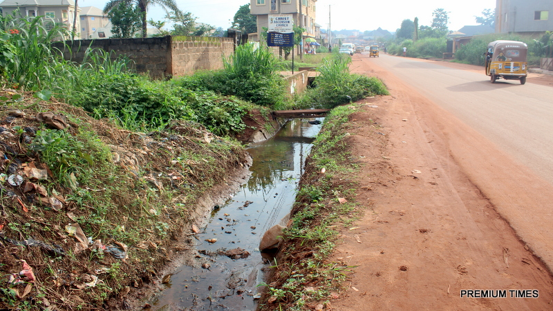 Poor waterways constructed