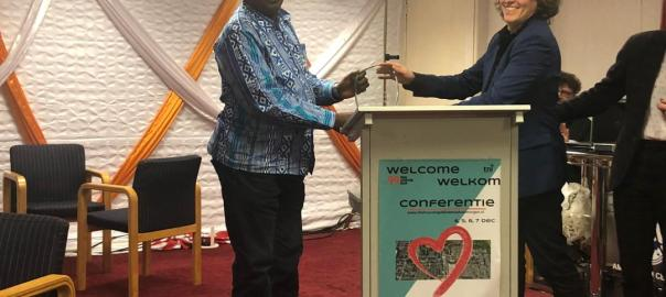Nigerian group's water campaign wins award in Amsterdam Photo credit: Premium Times
