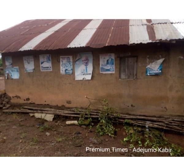 Campaign posters @ Olorunda