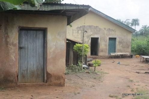 External view of Ndiememe healthcare centre