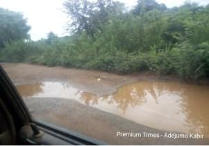 Road to Olorunda community