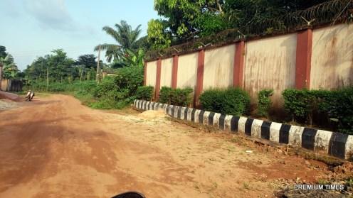 Umuowa road in Orlu LGA