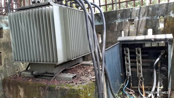Installed transformer at Mbukpa Community, Calabar South
