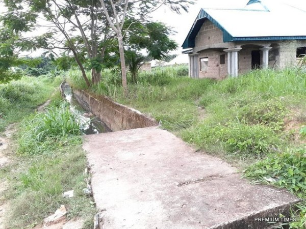 Erosion Remediation and Construction of Daniel Henshaw Street partially done