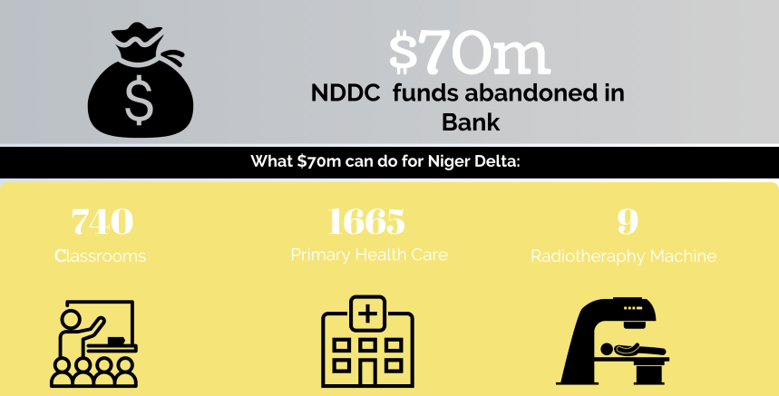 INFOGRAPH: What NDDC's 'abandoned' $70 million can do for Niger Delta