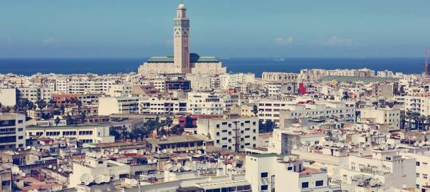 Casablanca-Morocco. [PHOTO CREDIT: hnoversa/Fotolia/Encyclopedia Britannica.]